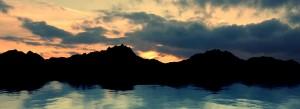 Creating a Sunset Landscape Scene
